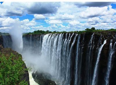 Air Terjun Victoria - Zambia & Zimbabwe