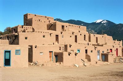Taos Pueblo - Meksiko