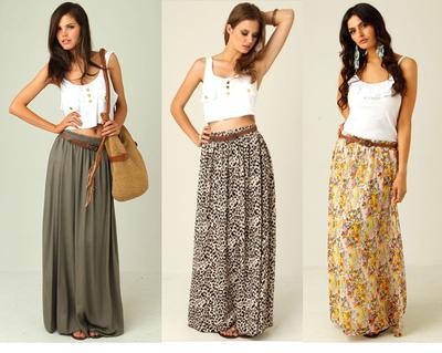 Mix N' Match: Maxi Skirt
