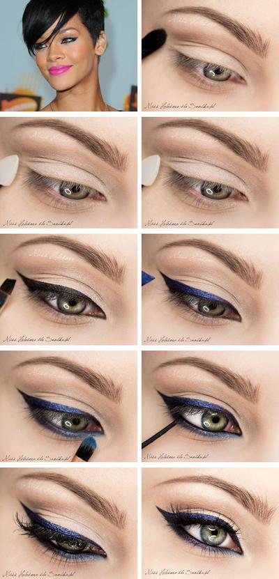 5. Hindari Eyeliner Tebal