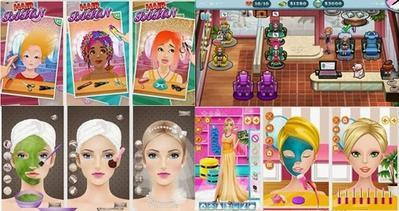 Kursus Make Up Dengan 4 Games Salon Kecantikan
