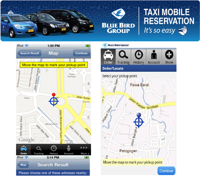 Blue Bird Group Taxi Mobile Reservation