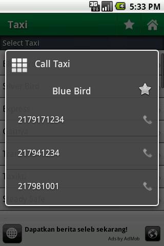 5. Taksi