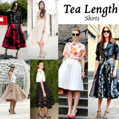 Mix N' Match: Tea-Length Skirt