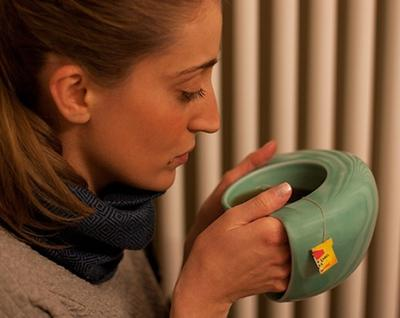 Hand Warming Mug