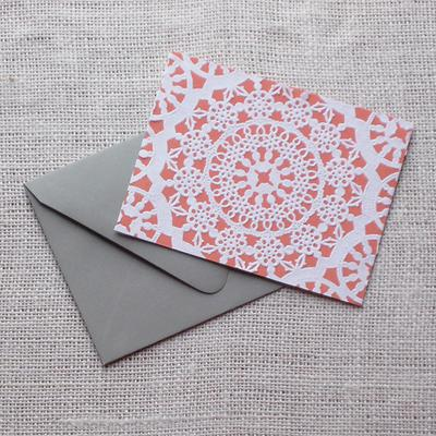 5. Lace Card