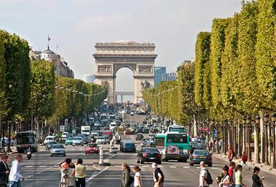 1. Champs-Elysees