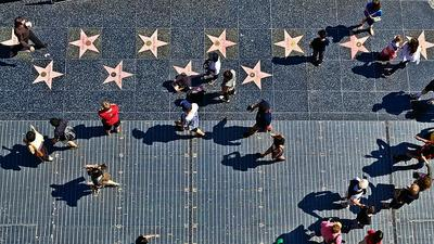 2. Hollywood Walk of Fame