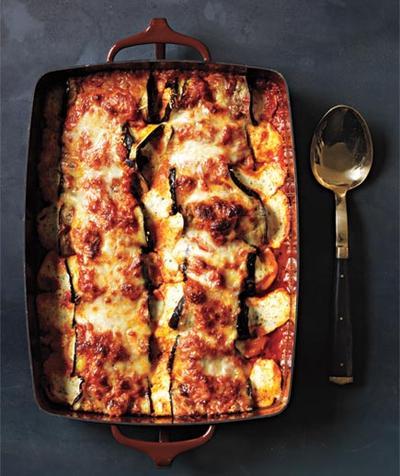 3. Eggplant Parmesan Rollatini
