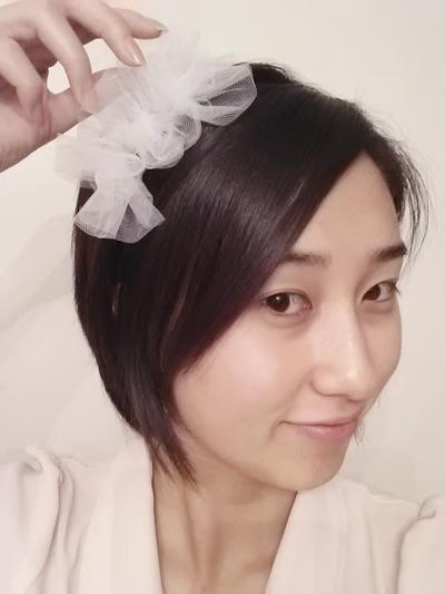 1. Tulle Headband