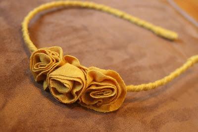 2. Flower Headband