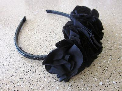 3. Ruffle Headband