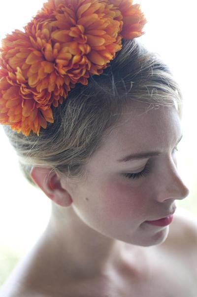 4. Floral Headband