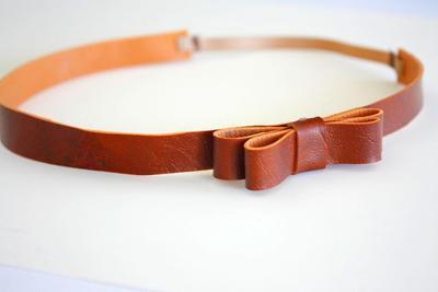 5. Leather Headband