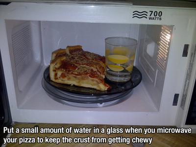 1. Segelas Air Dalam Microwave