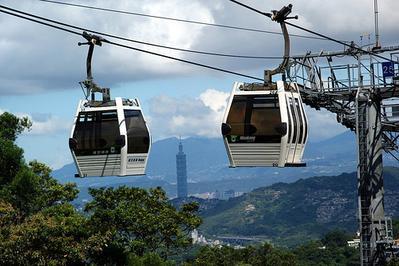 5. Maokong Gondola - Taipei, Taiwan