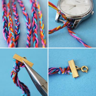 Wrap Watch DIY Kreasi 2