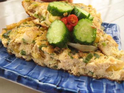 3. Omelet Tahu