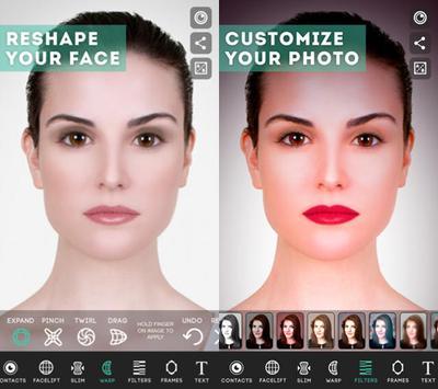 Edit foto face