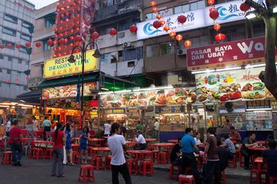 4. Jalan Alor Food Street