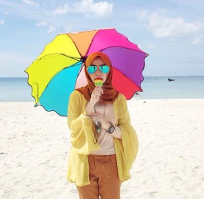 Outfit Hijab Simple Ke Pantai Frankmba Com