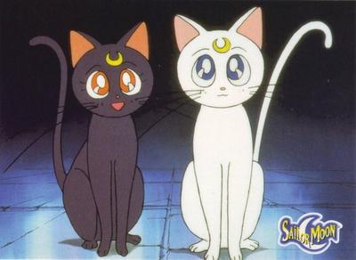 2. Luna & Artemis (Sailormoon)