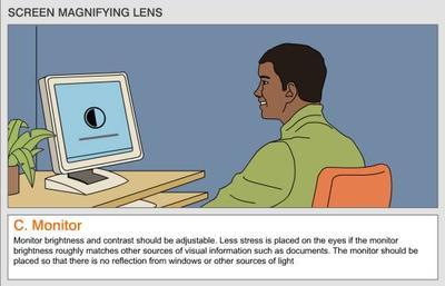 1. Mengurangi Intensitas Cahaya Monitor