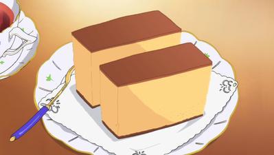 Cake yang selalu dibawah oleh Mugi-chan