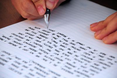 5. Biasakan Tulisan Tangan