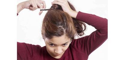 Tidak Mengikat Rambut Terlalu Kencang