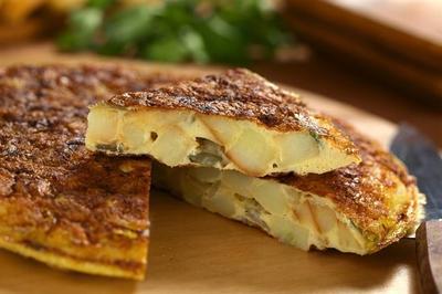 2. Tortilla Espala (Spanish Omelet)