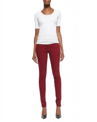 Jeans Merah Marun