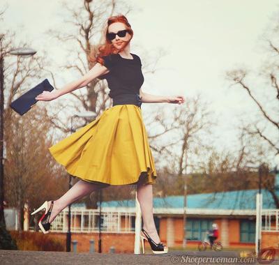 5. Buatlah Dirimu Nyaman dengan High Heels yang Kamu Pakai dan Sering-Seringlah Berlatih