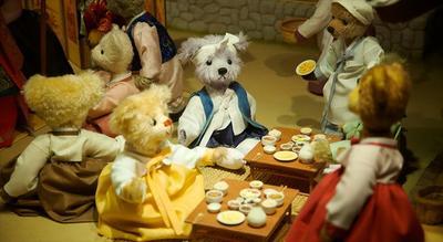 5. Museum Teddy Bear