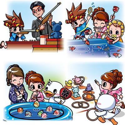 Permainan Ala Festival Musim Panas dalam Anime