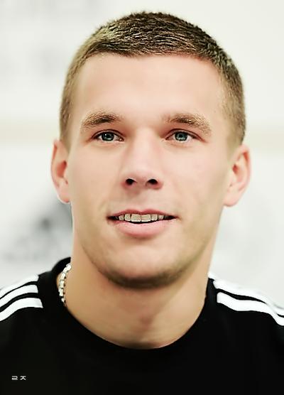 8. Lukas Podolski, Midfielder & forward, Jerman, Jerman