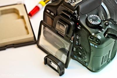 1. Pasang LCD Screen Protector