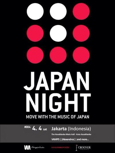 JAPAN NIGHT in Jakarta (Indonesia) 2015 Siap Hibur Penggemar