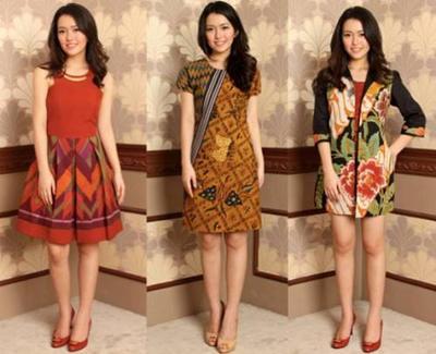 Bergaya Kasual dengan Batik