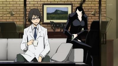 3. Shinra & Celty