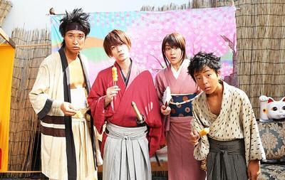 1. Rurouni Kenshin (Samurai X)