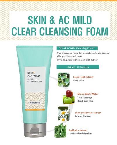 AC Mild Cleanser Foam