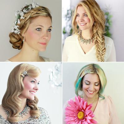 8 Gaya Rambut ala Princess untuk Pengantin