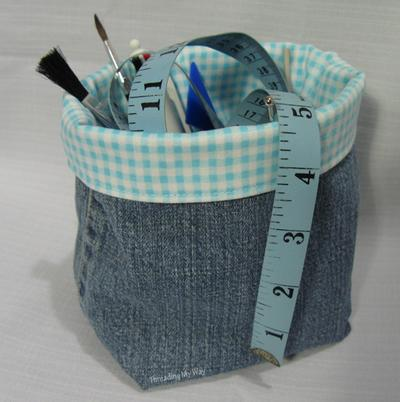 2. Fabric Basket