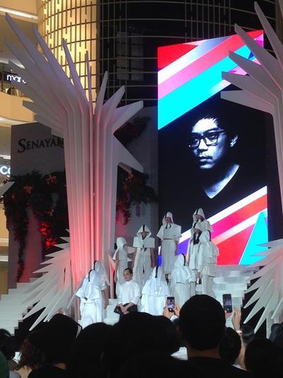 Austere by Tri Handoko Meriahkan Penutupan Senayan City Fashion Nation 2015