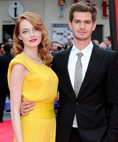 Emma Stone dan Andrew Garfield