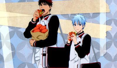 Intip Makanan Menggiurkan dari Anime Kuroko no Basuke