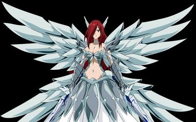 7. Erza Scarlet, Fairy Tail