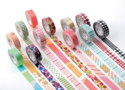 """10 Ide Kreatif Menggunakan Selotip Jepang """"Washi Tape"""""""