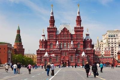 Red Square, Moscow, Rusia